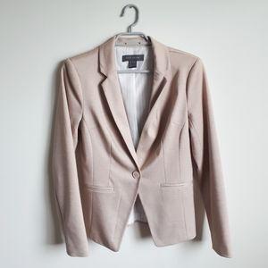 SUZY SHIER Light Pink Blazer